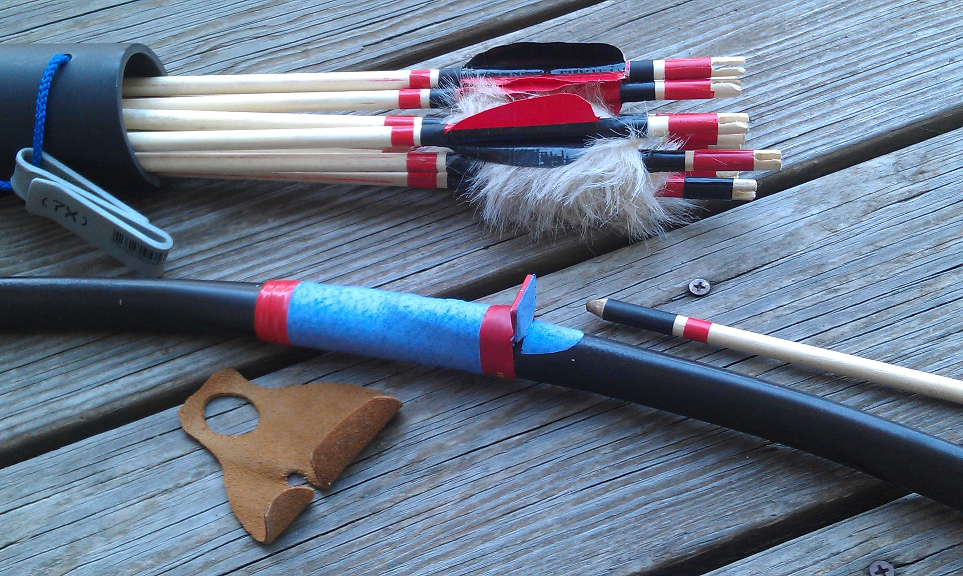 Как сделать лук из труб 723